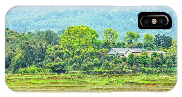 IPhone Case featuring the photograph Rural Scenery In Spring by Carl Ning