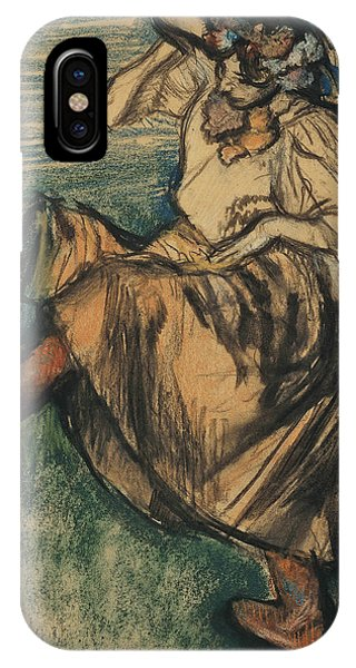 Russian Impressionism iPhone Case - Russian Dancer by Edgar Degas