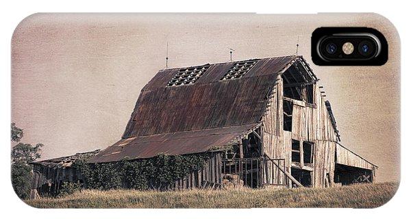 Americana iPhone Case - Rustic Barn by Tom Mc Nemar