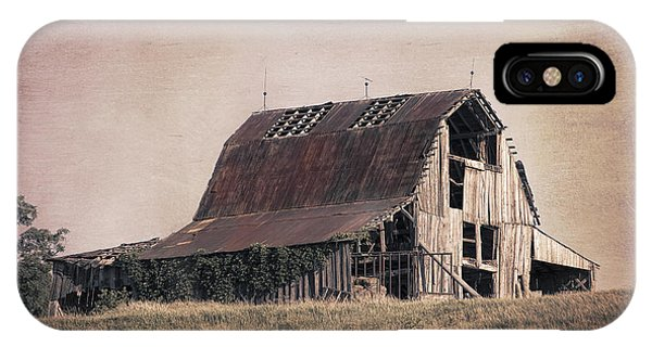 Old Barns iPhone Case - Rustic Barn by Tom Mc Nemar