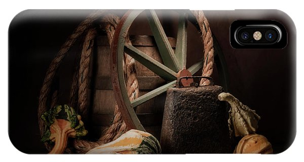 Bell iPhone Case - Rustic Still Life by Tom Mc Nemar