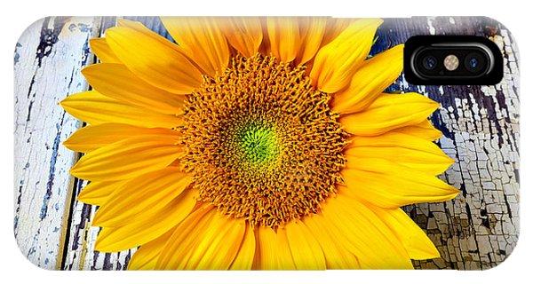Rustic Sunflower IPhone Case