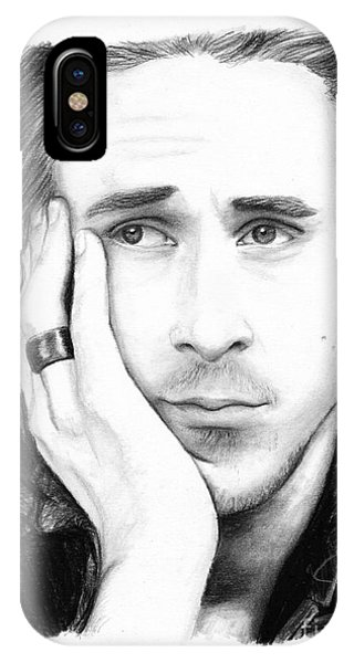 Goslings iPhone Case - Ryan Gosling by Rosalinda Markle