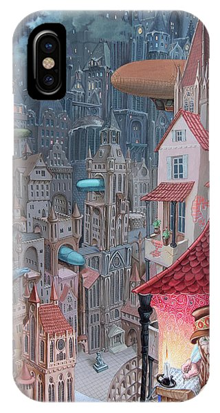 Saga Of The City Of Zeppelins IPhone Case