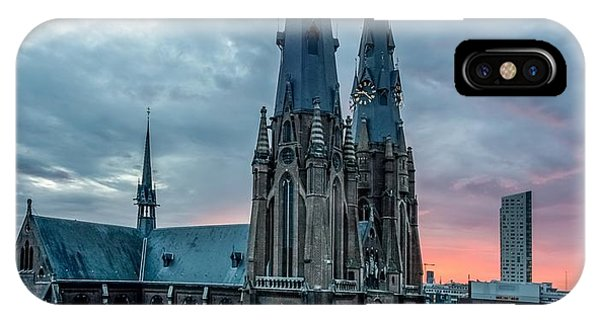 Saint Catherina Church In Eindhoven IPhone Case