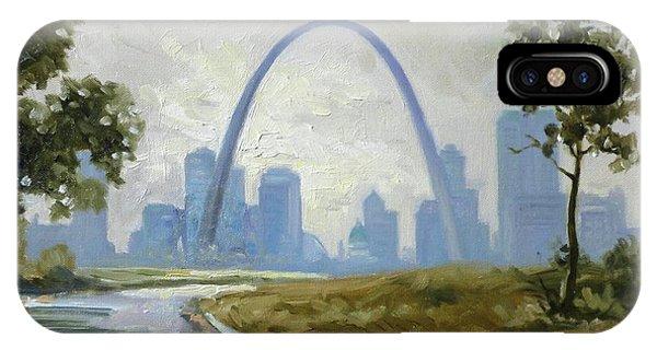 Saint Louis Panorama IPhone Case