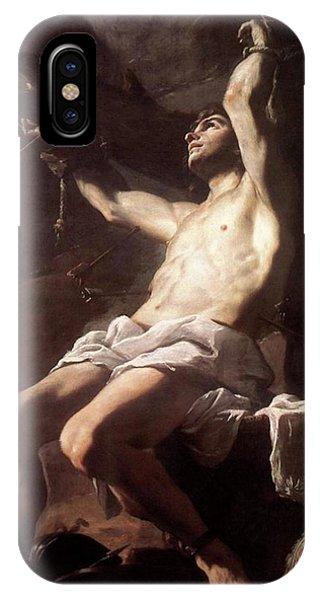 Saint Sebastian By Mattia Preti IPhone Case