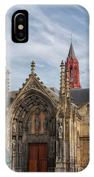Saint Servaes And Saint Johns IPhone Case