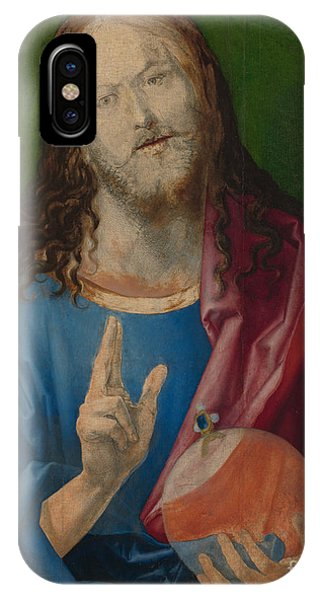 Albrecht Durer iPhone Case - Salvator Mundi by Albrecht Durer