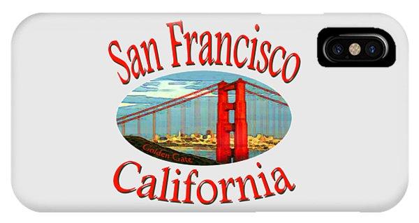 San Francisco California Design IPhone Case