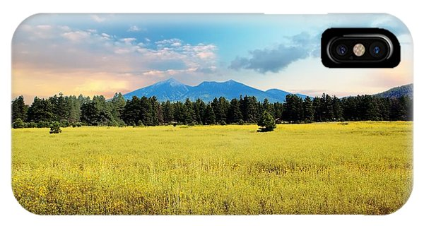 San Francisco Peaks  IPhone Case