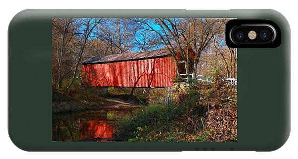 Sandy /creek Covered Bridge, Missouri IPhone Case