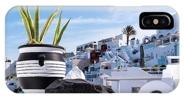 Santorini - Greece IPhone Case