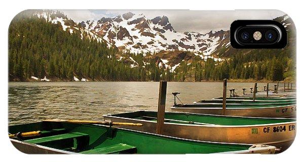 Sardine Lake IPhone Case