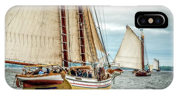 Schooner Race IPhone Case