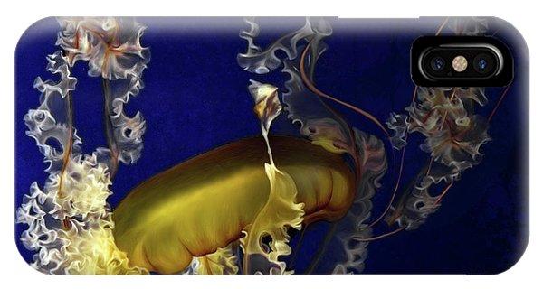 Sea Nettle Jellies IPhone Case