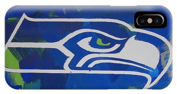Seahawks Fan IPhone Case