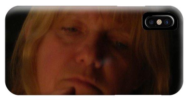 Self Portrait Phone Case by Nancie Johnson