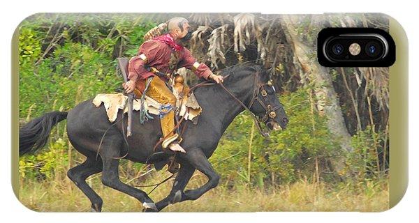 Seminole Indian Warrior IPhone Case