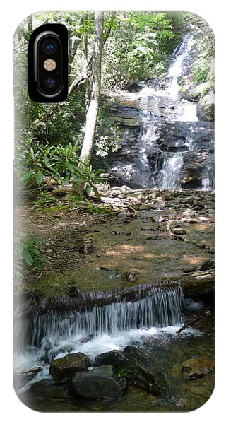Set Rock Creek Falls IPhone Case