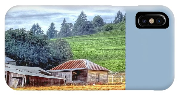 Shed And Grain Bins 17238 IPhone Case