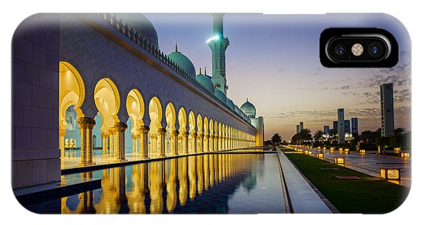 Sheikh Zayed Grand Mosque IPhone Case