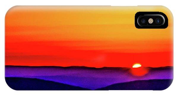 Shenandoah Valley Sunset IPhone Case