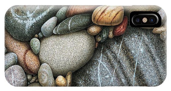 Shore iPhone Case - Shore Stones 3 by JQ Licensing