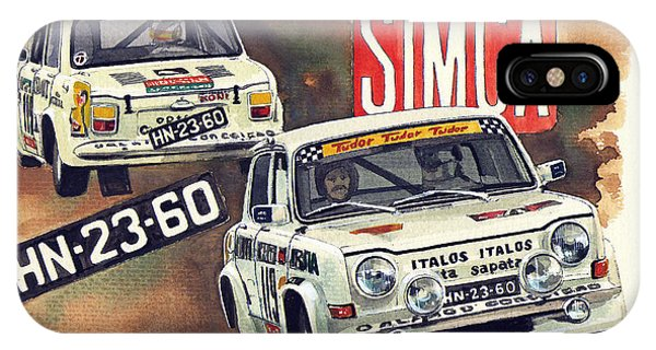 Simca 1000 Rallye 2 IPhone Case