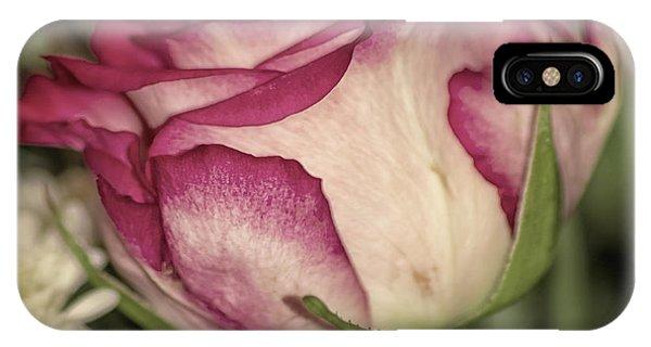 Single Rose IPhone Case
