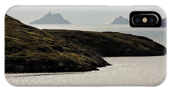 Skellig Islands, County Kerry, Ireland IPhone Case