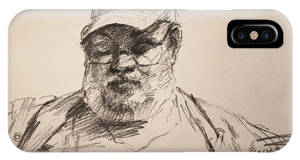 Sketch  IPhone Case
