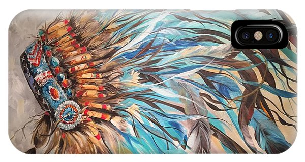 Sky Feather IPhone Case