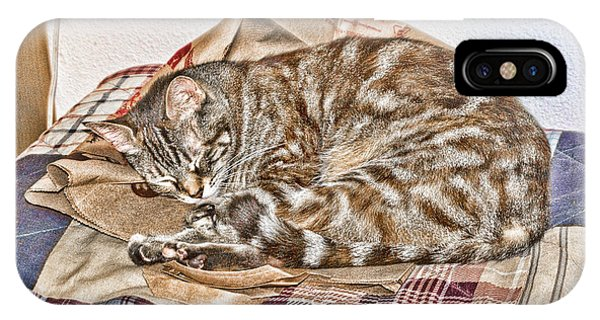 IPhone Case featuring the digital art Sleeping by Photographic Art by Russel Ray Photos