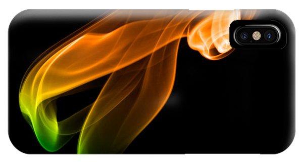 smoke XIV IPhone Case