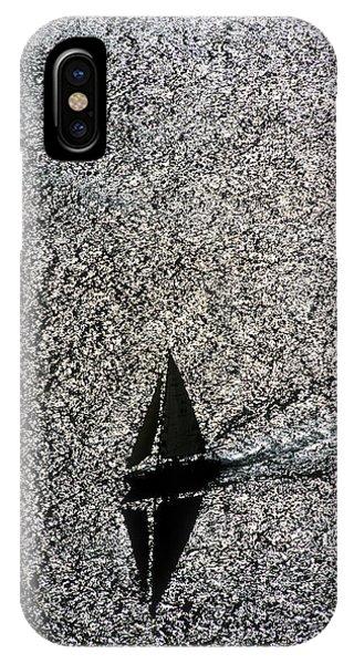 Sailing Into Solitude IPhone Case