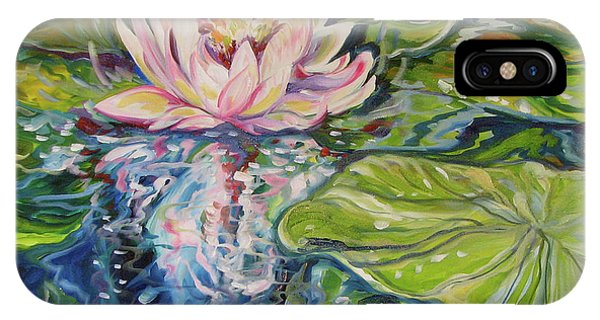 Solitude Waterlily IPhone Case