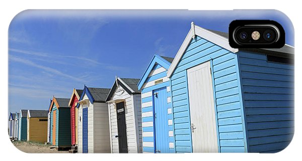 Southwold Beach Huts IPhone Case