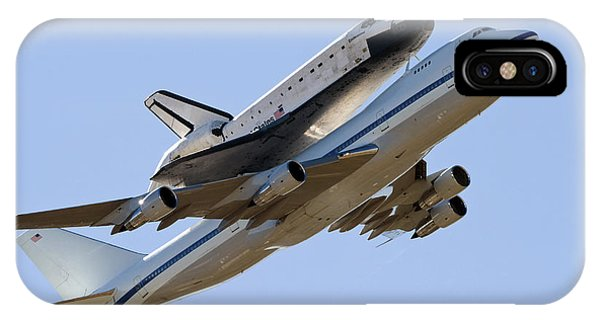 Space Shuttle Endeavour Mounted IPhone Case