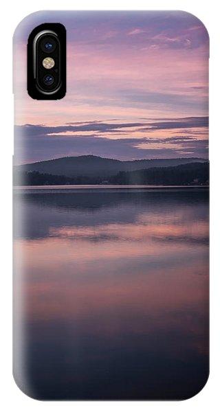 Spofford Lake Sunrise IPhone Case