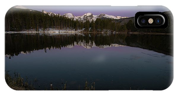 IPhone Case featuring the photograph Sprague Lake by Gary Lengyel