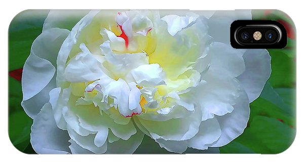 IPhone Case featuring the photograph Spring Peony by Roger Bester