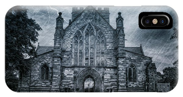 Spirituality iPhone Case - St Asaph Cathedral by Ian Mitchell