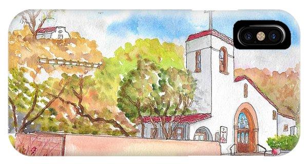 St. Catherine Of Alexandria Catholic Church, Avalon, Santa Catalina Island, Ca IPhone Case