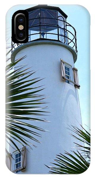 St. George Island Lighthouse IPhone Case