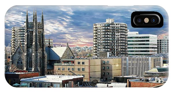 Stamford Cityscape IPhone Case