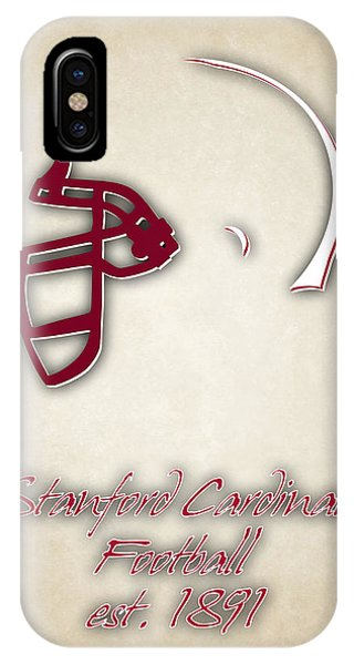 Stanford iPhone Case - Stanford Cardinals by Joe Hamilton