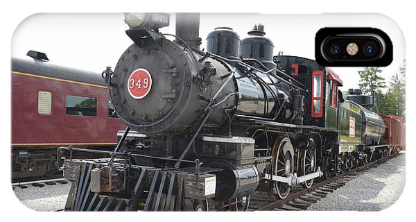 Steam Engline Number 349 IPhone Case