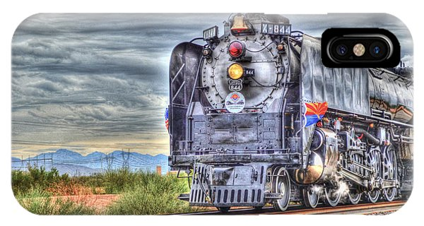 Steam Train No 844 IPhone Case