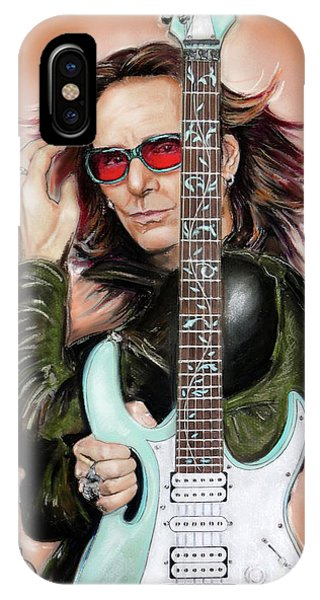 Frank Zappa iPhone Case - Steve Vai by Melanie D